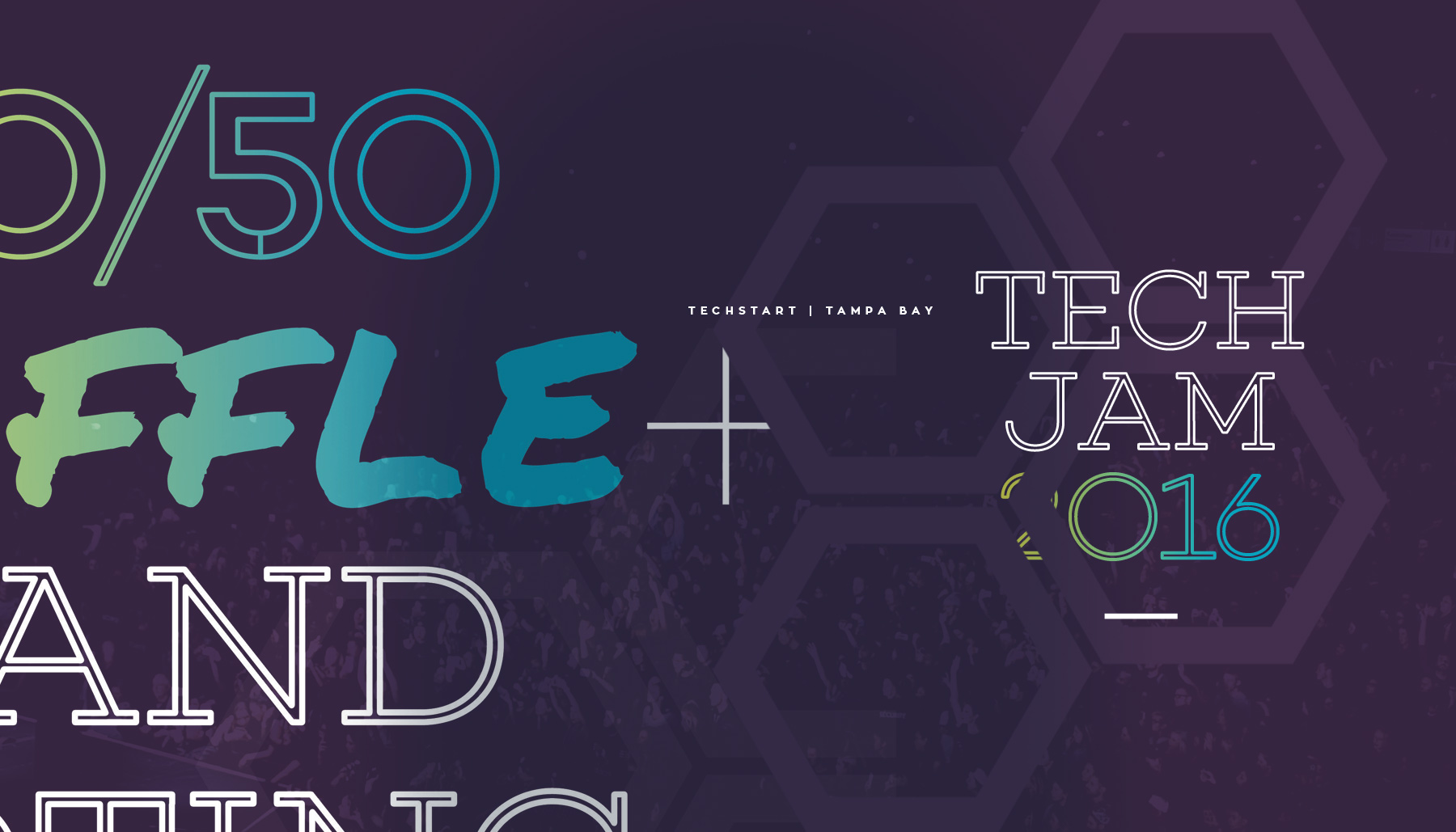 Elevate Branding - TechStart Tampa Tech Jam 2016 event identity and branding