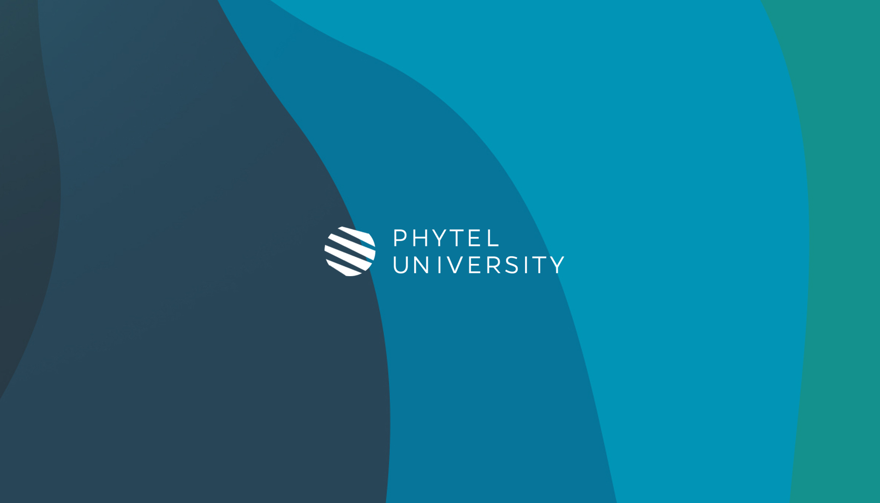Phytel University, healthcare brand identity, healthcare tech branding, branding software product, university branding design