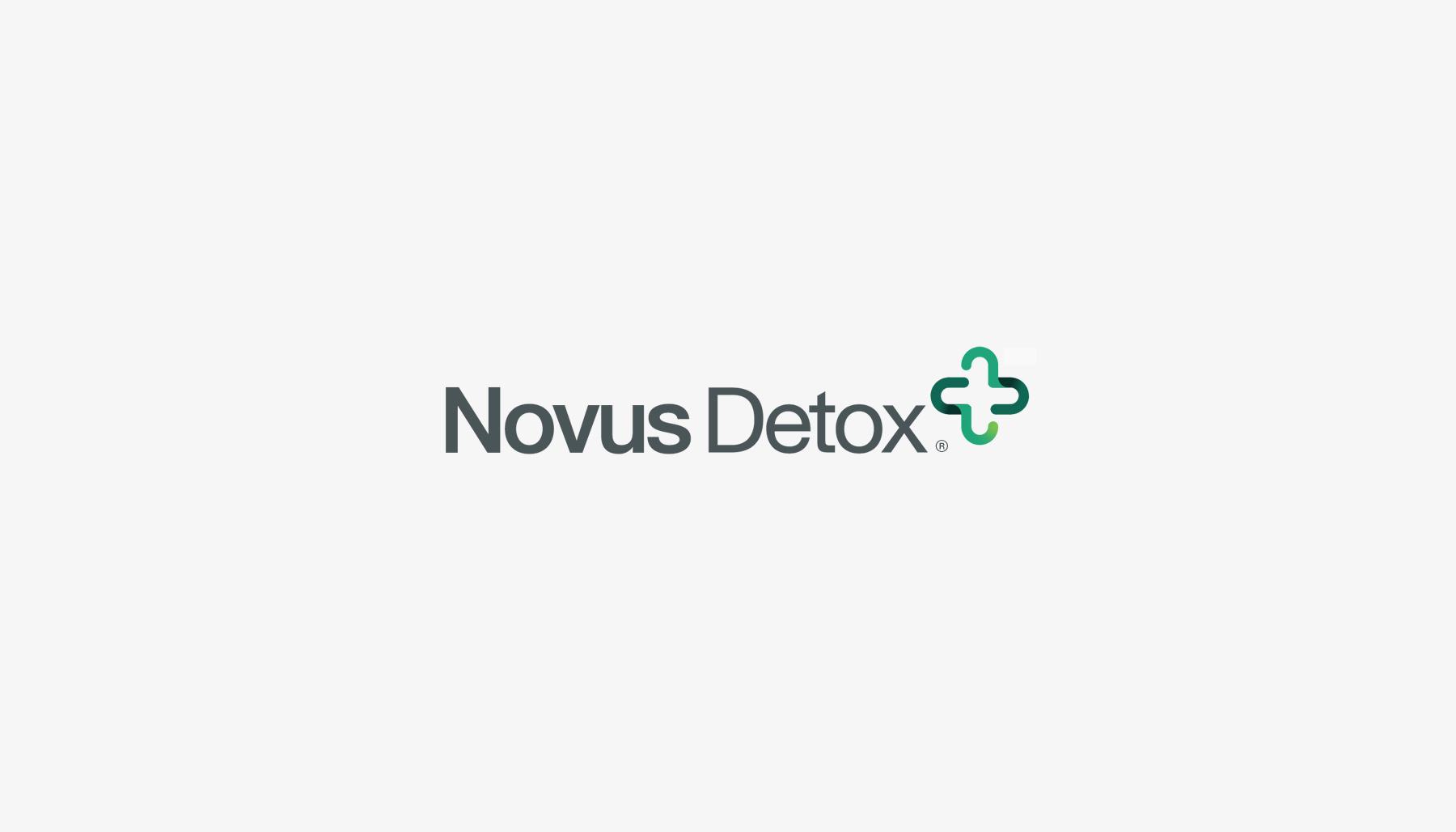 Novus Detox, Florida medical center branding, Tampa Palm Beach healthcare detox brand