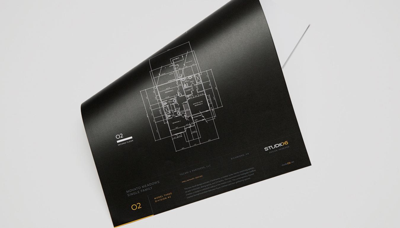 Studio 06 brand identity — AEC architectural firm rebranding, Virginia architecture brand